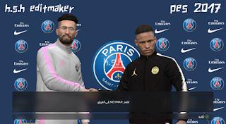Paris Saint-Germain 18-19 Press Room + Manager Kits PES 17