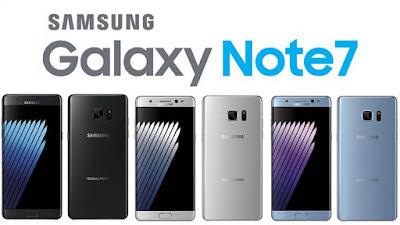 Alasan Produk Galaxy Note 7 Ditarik Dari Pasaran