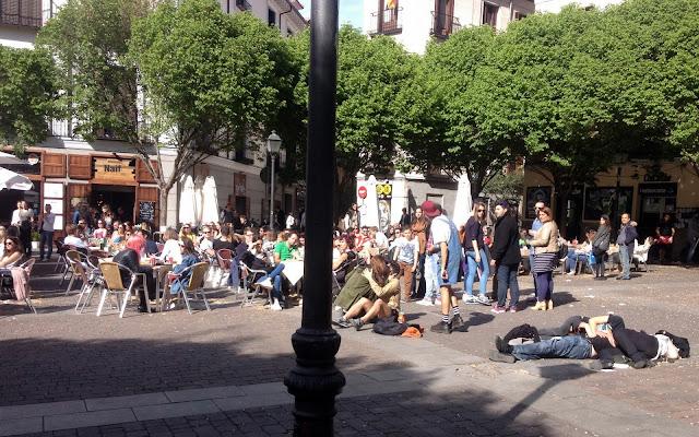 Madrid Cava Baja ja Casa Baja - matkailu raskaana Espanjassa