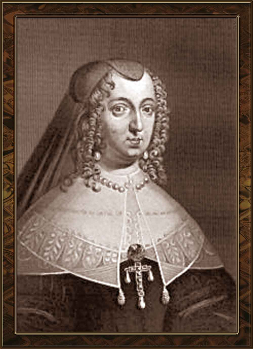 Anne of Austria. (Queen of France) picture