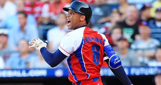 El zurdo bateó .523 con tres dobles y seis empujadas con la selección nacional de Cuba en el Clásico Mundial de Béisbol del 2013.
