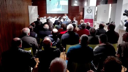 Un momento de la presentación (Fot. J.M. Sanchis, 2019)