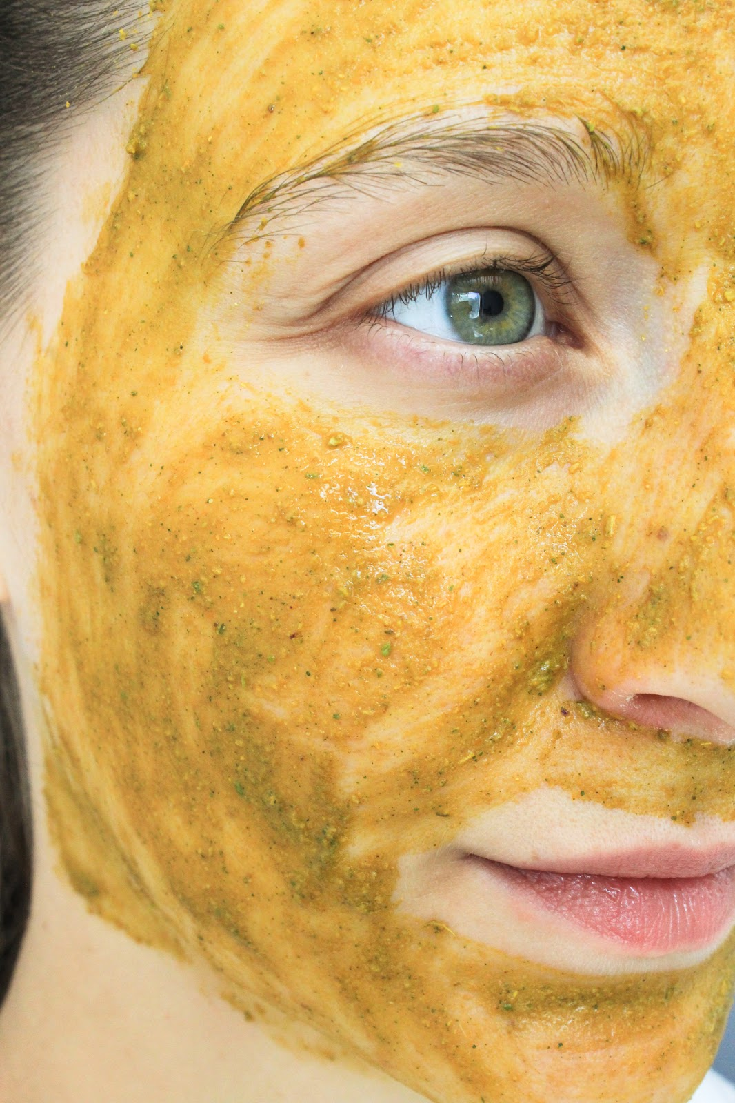 Earthwise Beauty Sungod Face Mask consistency mixed with water and honey