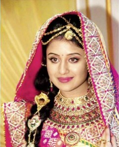 Biodata Paridhi Sharma (Pemeran Jodha Bai / (Mariam-uz-Zamani)