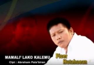 Lirik Lagu Mamali' Lako Kalemu (Picer Hutahean)