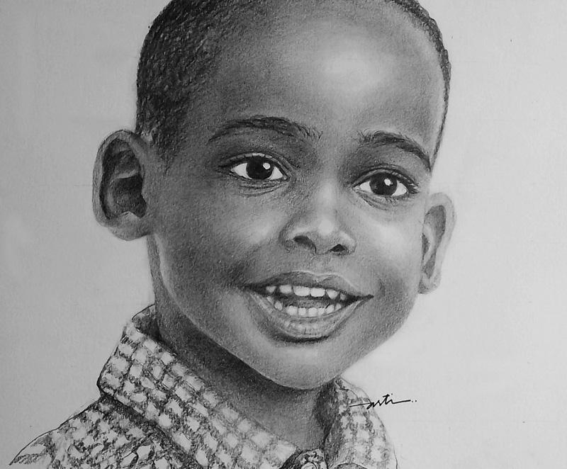 Arti S Art Life As I See It Little Boy Portrait In