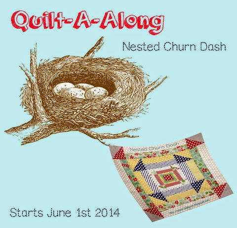 Nested Churn Dash Quilt Along | A Quilting Life - a quilt blog