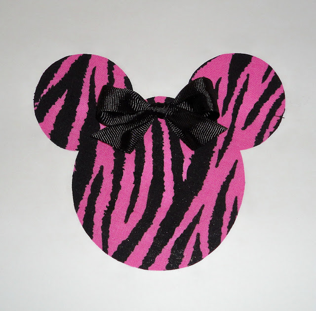 Pink Cebra Minnie Head.
