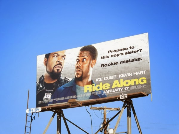 Ride Along film billboard