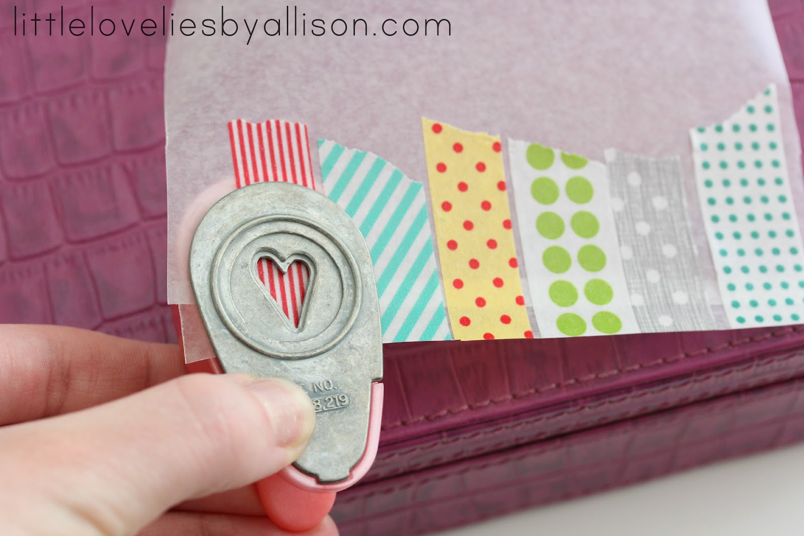 little lovelies tutorial washi tape stickers. Black Bedroom Furniture Sets. Home Design Ideas