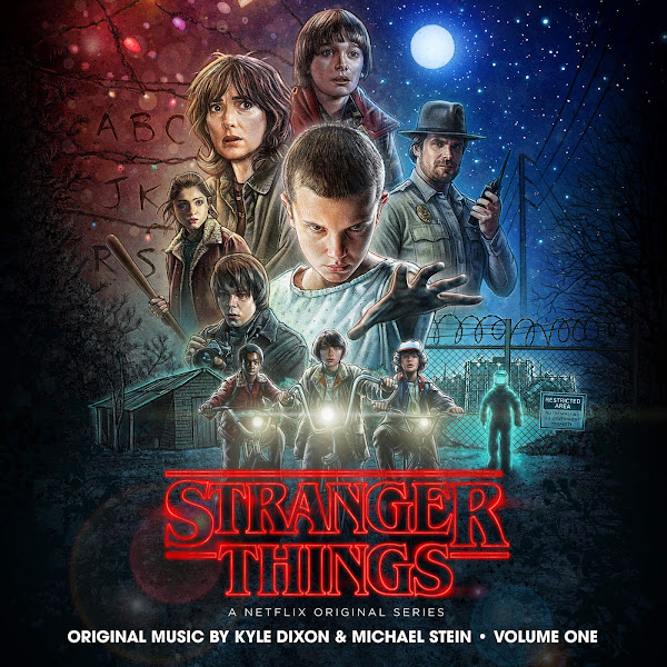 Kyle Dixon - Stranger Things, Vol. 1 (A Netflix Original Series Soundtrack) Cover