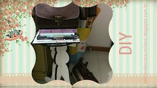 artesanato, Craft, craft room, DIY, handmade, Projeto, scrap, selfmade, pap, passo a passo, banquinho decorativo, mesinha de apoio, decor, decoração, decoration, organização, moda, fashion, lolita fashion, btssb, iw, Innocent World, therezia rose, paris, livros, book, christmass, manequim