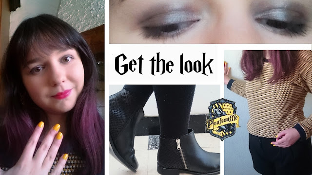 Get the look Poufsouffle - Harry Potter