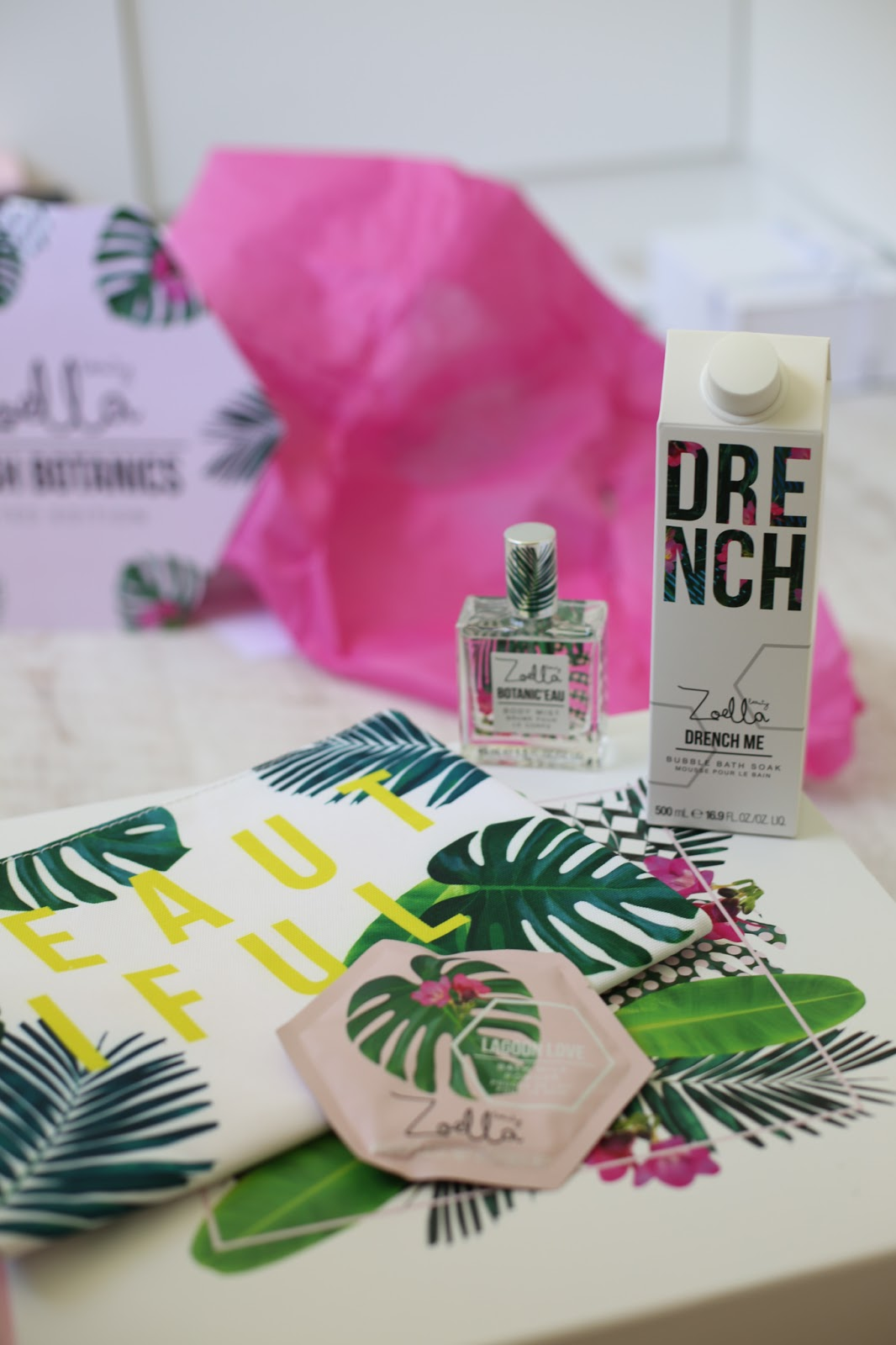 Zoella Splash Botanics review
