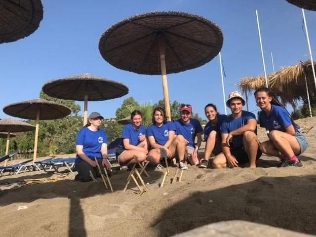 Πρώτη φωλιά της Καρέτα για το 2019 στο Λακωνικό Κόλπο