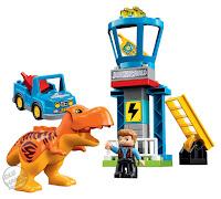 Toy Fair 2018 LEGO Duplo Jurassic World Trex Tower