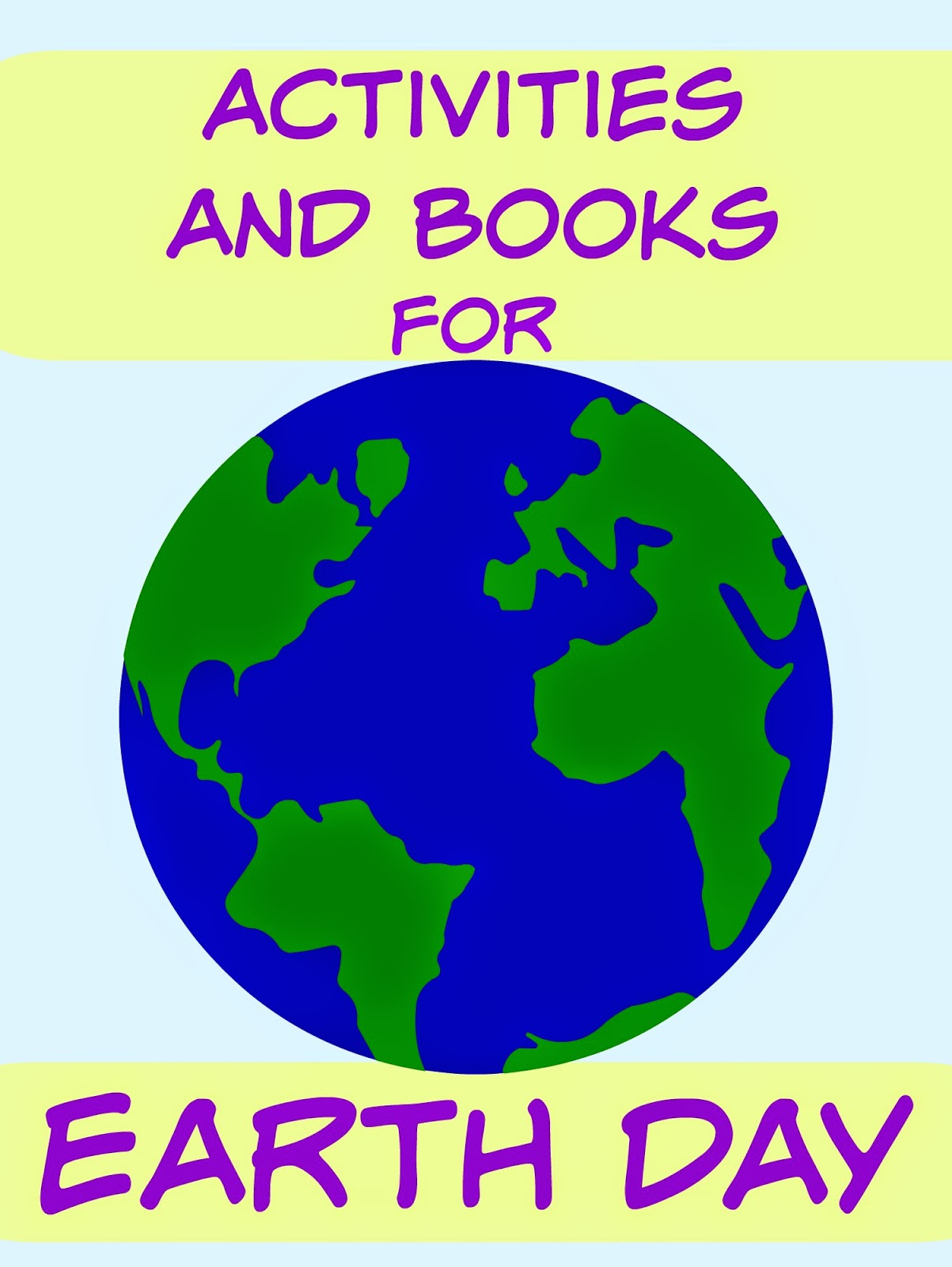 Earth Day Activities and Books at Mom's Library