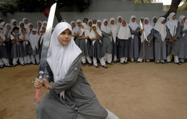 Teen ag hijab - 5 4