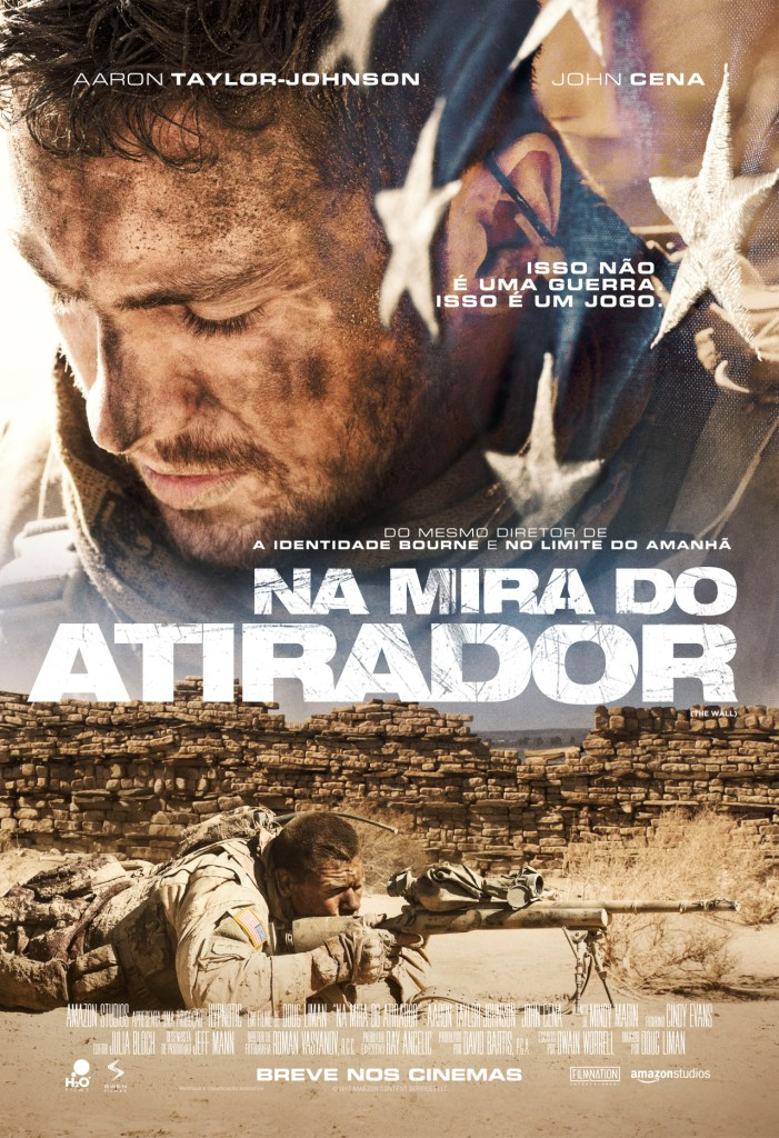 Capa do Filme Na Mira do Atirador