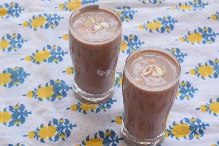 Cold Cocoa  Easy Chocolate Milkshake for Kids - Priya R - Magic of Indian Rasoi