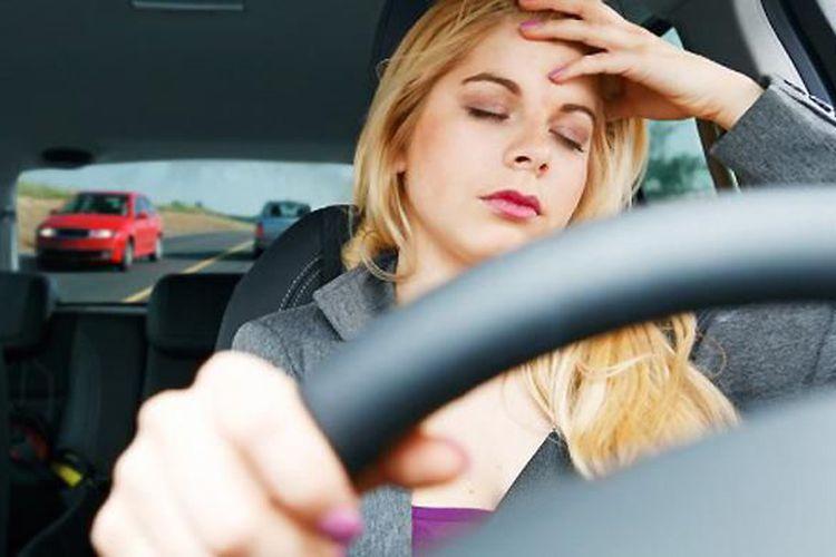 Bahaya Ngantuk Saat Berkendara
