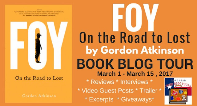 Foy: On the Road to Lost Book Blog Tour and Video Guest Post #LoneStarLit