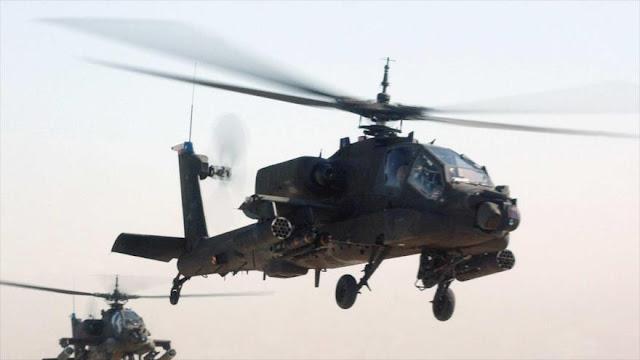 Helicópteros de EEUU prestan ayuda nocturna a Daesh en Irak 