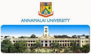 Annamalai University Admission