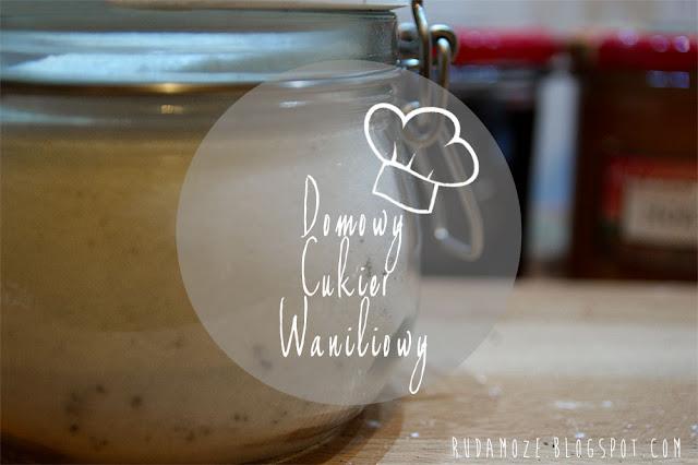 jak zrobić domowy cukier waniliowy