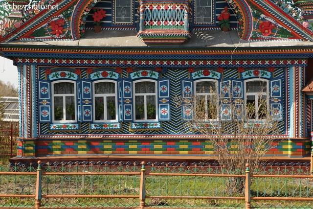 самые красивые деревянные дома мира