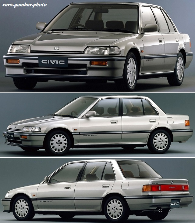 Honda Civic 4th Gen 36i JP-spec sedan EF 1987-88