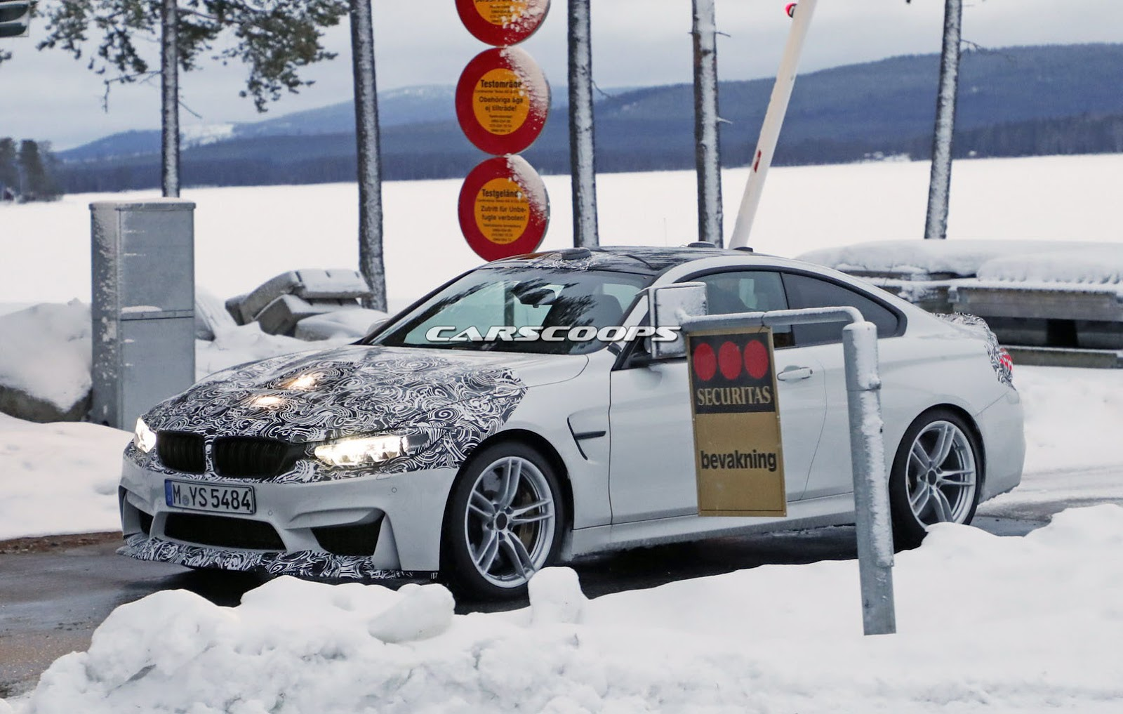 2014 - [BMW] M3 & M4 [F80/F82/F83] - Page 24 Spied-BMW-M4-CS-1