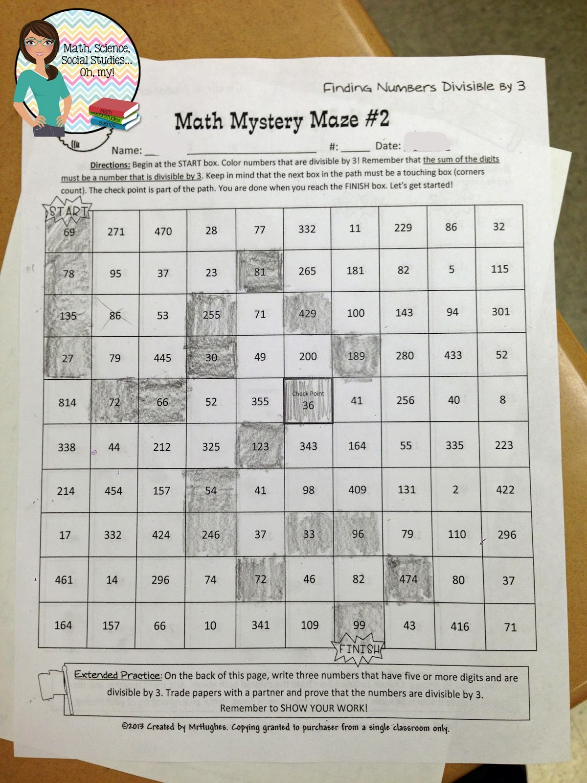 Math Science Social Stu S Oh My December