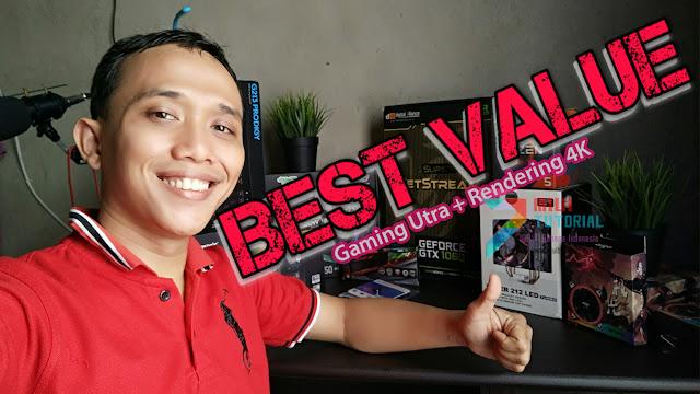 Tolong Kasih Rekomendasi Racikan PC Gaming Setting Ultra + Bisa Rendering Video 4K? Coba Racikan Ini!