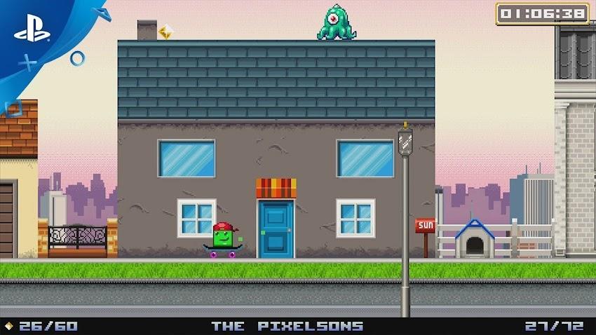 SUPER LIFE OF PIXEL è un doppio gioco