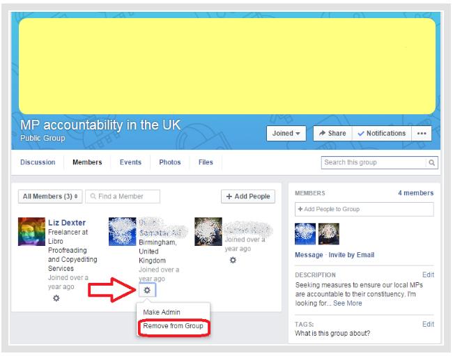 How do i cancel facebook membership