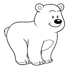 Free Images Of Baby Bear Coloring Pages