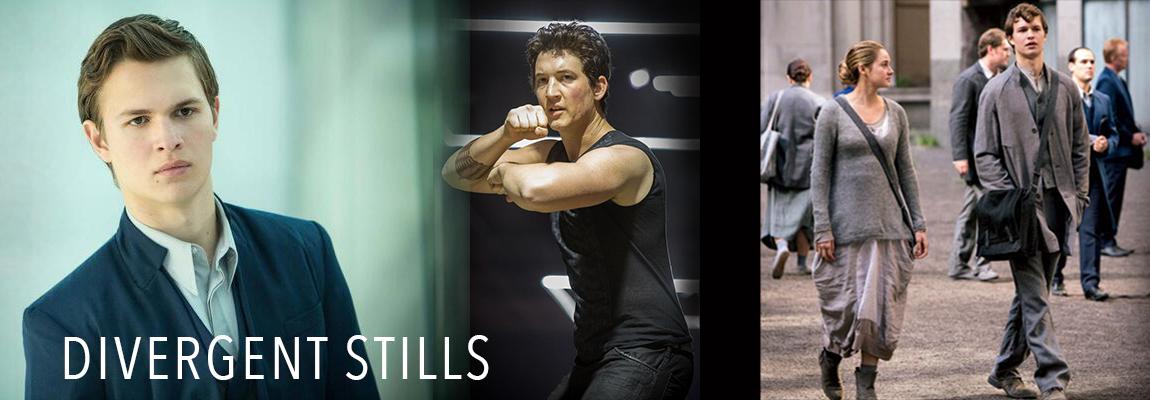The Divergent Life: Divergent Movie Stills of Caleb, Tris