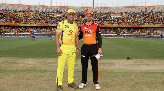 IPL 2018 Playoff : Chennai Super Kings Vs Sunrisers Hyderabad