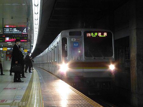 東急東横線 各停 池袋行き2 Y500系