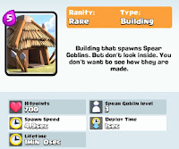 Clash Royale Goblin hut card