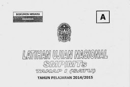 SOAL TPM KOTA YOGYAKARTA TAHAP 2 Bahasa Indonesia (18-19 Maret 2015)