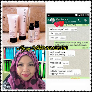 Mary kay  timewise user testimoni 2