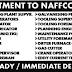 RECRUITMENT TO NAFFCO - DUBAI 2017   APPLY NOW