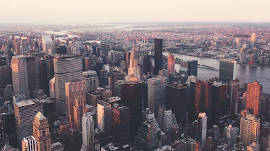 Iconic view of the New York City