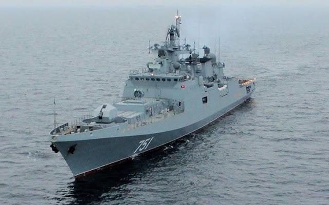 Η ρωσική φρεγάτα Admiral Essen στον Πόρο για τα 190 χρόνια διπλωματικών Ελληνορωσικών σχέσεων (βίντεο)
