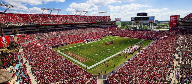 Jogos da NFL em Tampa na Flórida