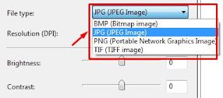 cara scan dengan printer canon