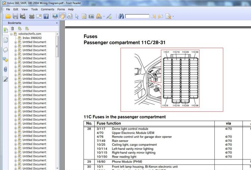 volvo s80 wiring diagram complete guide volvo s60, s60r, s80 2004 wiring diagram - heavy equipment ...