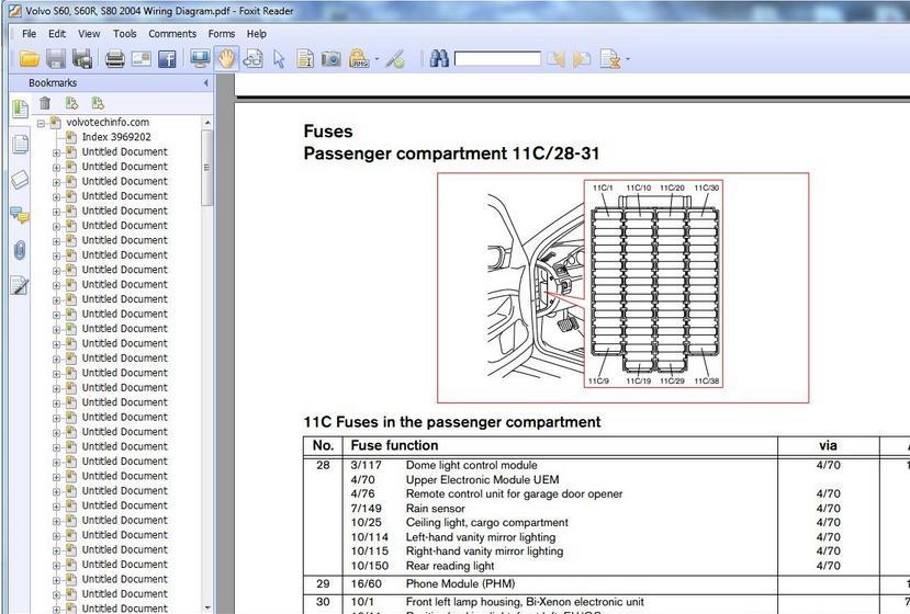 2002 Volvo S60 Relay Diagram Wiring Schematic Diagram